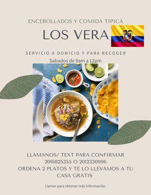 Ceviche de camarón ecuatoriano y Encebollado for Sale in Homestead, FL