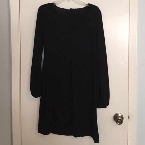 Black dress from Zara