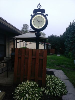 Antique style Two-Face Street clock.... Open to offers thanks for Sale in Marysville, OH