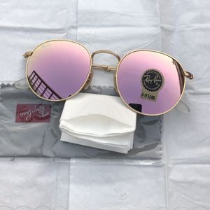 Ray Ban Round 3447 Pink Lenses Sunglasses With Receipt for Sale in Washington, DC