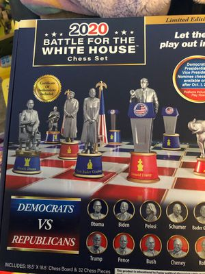 2020 battle for the White House chess set for Sale in Berlin, CT