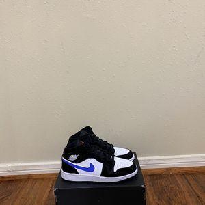 Jordan 1 Mid Racer Blue Size 4Y for Sale in Houston, TX