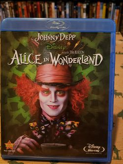 Alice In Wonderland Blu-ray DVD for Sale in Seabrook,  TX
