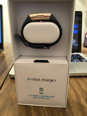 Fitbit Charge 3 for Sale in Lawrence Township, NJ