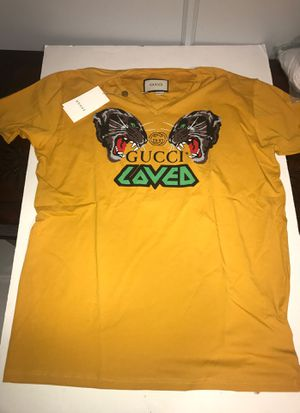 Yellow Gucci T-Shirt 3xl for Sale in Saint James, NY