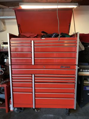Snap on tool box's top KRL 1201A—Bottom—KRL 1001B for Sale in La Verne, CA