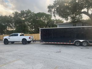 2019 Lark Car Hauler 34ft enclosed trailer for Sale in Fort Lauderdale, FL