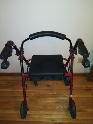 Walker with seat n storage for Sale in Minneapolis, MN