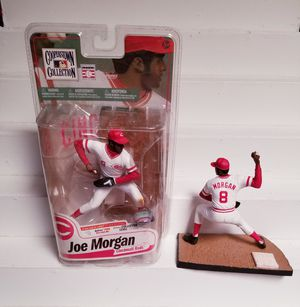 Joe Morgan McFarlane Cooperstown Collection Series 7 Reds Action Figure lot for Sale in Tolleson, AZ