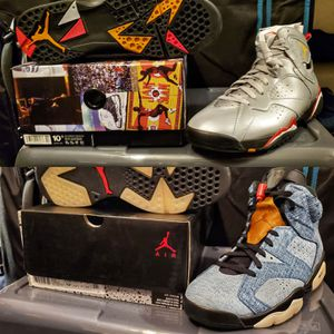 Jordan Retro 6 & 7 Men's Sz 10.5 for Sale in Pembroke Pines, FL