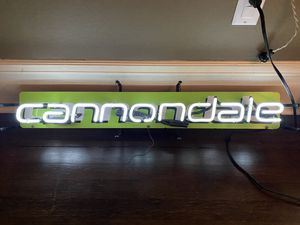 Awesome neon cannondale bike light for Sale in Seattle, WA