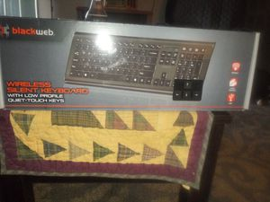 Blackweb. Wireless silent keyboard new in box for Sale in Columbus, OH