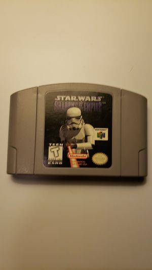 Star Wars Shadows of the empire for N64 for Sale in Hartland, ME
