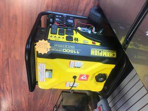 Champion 9200 watt Generator for Sale in Trenton, NJ