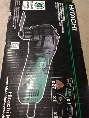 Hitachi Oscillating Multi Tool-New for Sale in West Springfield, VA