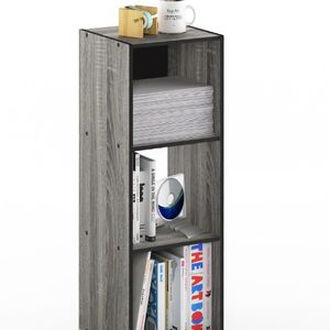 Gray Wood 4-shelf Cube B oo kcase - Brand New for Sale in Dallas, TX