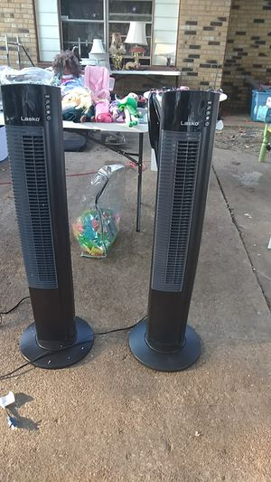 Lasko Tower fan 5 speed for Sale in Memphis, TN