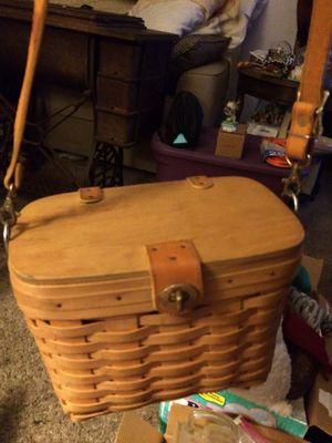Longaberger basket purse for Sale in Mechanicsburg, OH