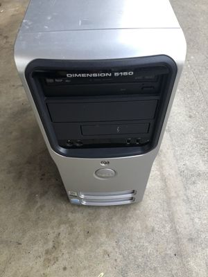 used, working dell desktop computer windows 7 $40 for Sale in Downey, CA