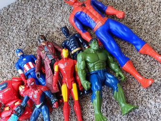 Move Out Sale : Super Heros Large Toys for Sale in Herndon,  VA