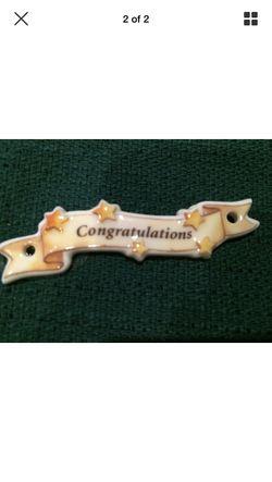 Longaberger Congratulations Tie On for Sale in Warrenton,  VA