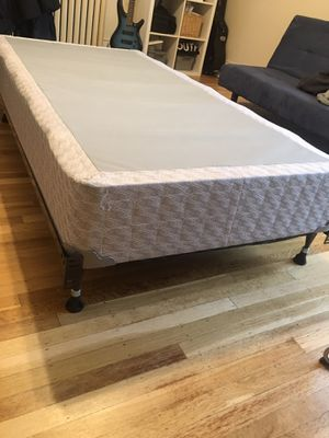 Box Spring and frame for twin size bed for Sale in Portland, OR