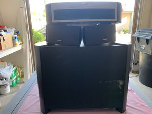 Bose 3-2-1 Home Theater Sound System w/ Sub and all cables. for Sale in Cypress, CA