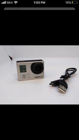 GoPro Hero3 Silver for Sale in Vista, CA