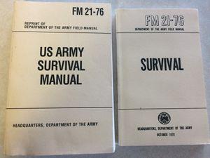 Army/prepper books for Sale in Entiat, WA