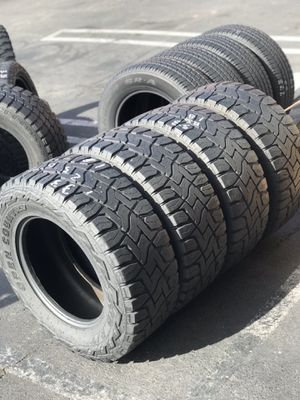 (4) Toyos RT 33x12.50r18 $280 for Sale in Los Angeles, CA