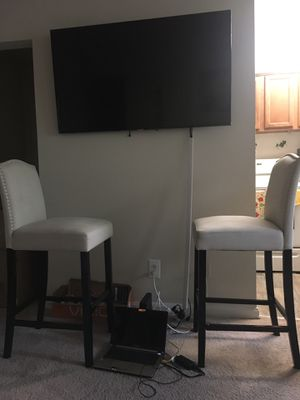 2(two) bar stools for sale- GOOD LOOKING for Sale in Mount Rainier, MD