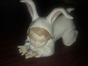 "NAO by Lladro Figurine ""My Little Bunny Baby"" #1414 for Sale in Pompano Beach, FL"