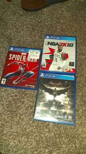 3games for 10$ each. for Sale in Florissant, MO