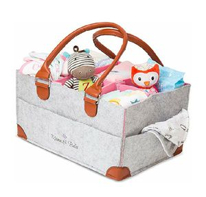 Diaper Caddy Organizer- Felt Baby Caddy for Baby Shower Gift for Sale in Upland, CA