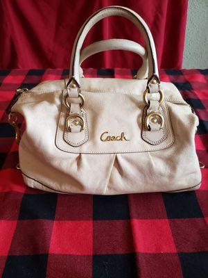 COACH light cream satchel. for Sale in Kent, WA