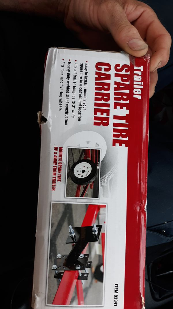 Trailer spare tire carrier bracket/mount for sale