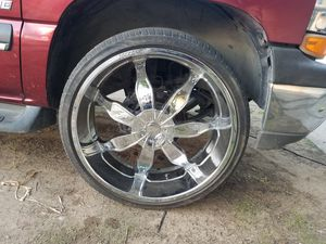 """26"""" rims and tires for Sale in Madera, CA"""