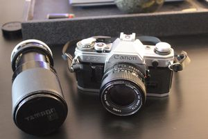 Canon AE-1 w/ Lenses and Metal Case for Sale in Miami, FL