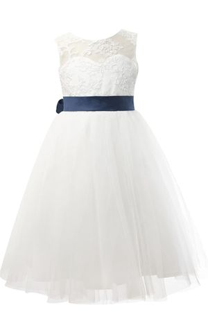 Lace Tulle Wedding Flower Girl Dress for Sale in Blue Ash, OH