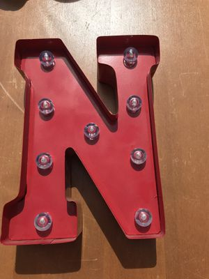 Metal letter lights up for Sale in Longbranch, WA