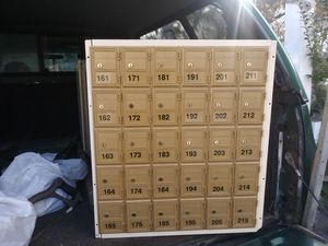 Multiple mailboxs for sale. for Sale in Port Washington, NY