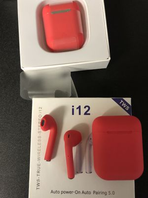 wireless Bluetooth headphones i12 for Sale in San Diego, CA