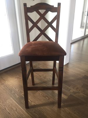4 Wooden Bar Stools for Sale in Raleigh, NC