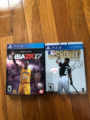 PS4 games collectible for Sale in Johnston, RI