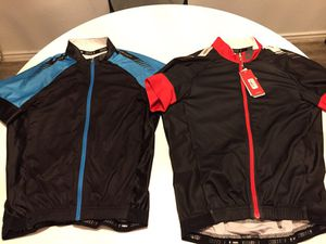 Specialized road bike shirts: blue and red for Sale in Austin, TX