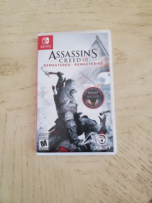 Nintendo switch video game Assassins Creed 3 for Sale in Chandler, AZ