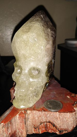 Smokey calcite skull for Sale in San Jose, CA