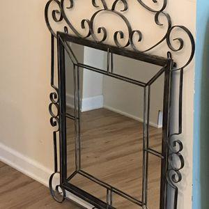 Wrought Iron Wall Mirror for Sale in Virginia Beach, VA
