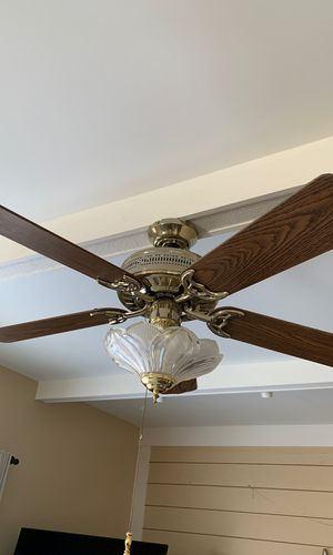 Ceiling fan with light for Sale in Gaithersburg, MD