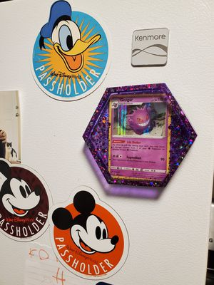Pokemon Gengar card magent coaster for Sale in Tampa, FL